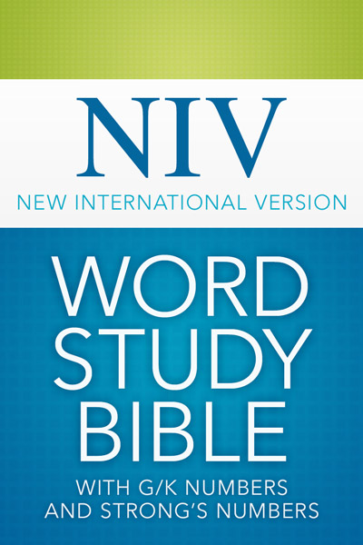 NIV Word Study Bible with G/K and Strong