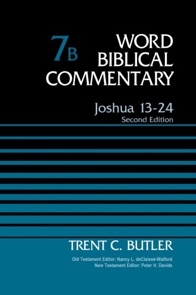 Word Biblical Commentary(WBC): Joshua 13-24, 2nd Edition (Volume 7B)