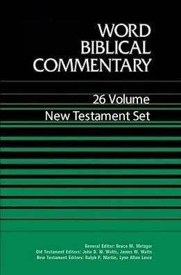 Word  Biblical Commentary (WBC): New Testament Set (26 Vols.)