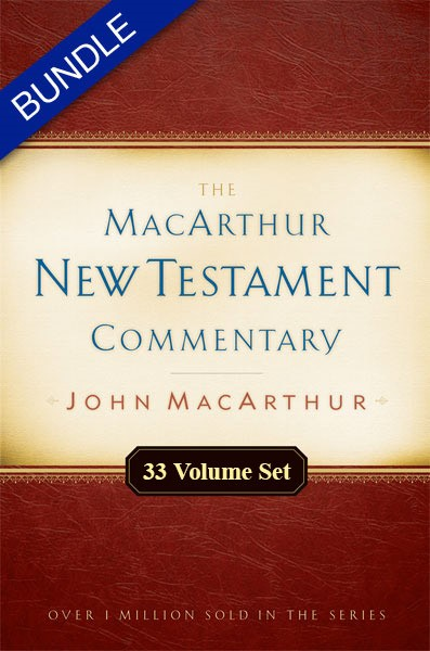 MacArthur New Testament Commentary Set (33 Vols.)