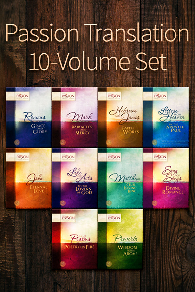 Passion Translation 10 Volume Collection